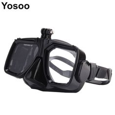Diving Equipment Camera Mount Diving Mask Scuba Snorkel Swimming Goggles For GoPro Hero 2 3 3+ 4 for Sports Camera##