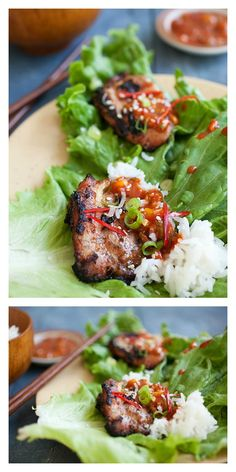 Crazy delicious Korean BBQ Chicken (Dak Gogi). Making Korean BBQ is easier than you think with this quick and easy recipe | Easy Asian Recipes http://rasamalaysia.com