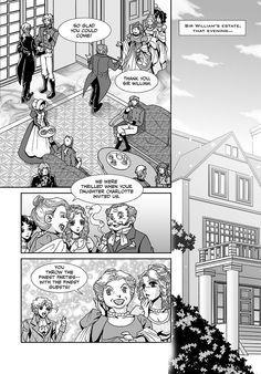 Pride and Prejudice manga Chapter 2 page 8