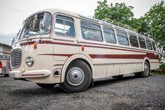 Legendary bus Škoda 706 RTO intercity modification