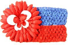 "Designer 1.5"" Crochet Headband Assortment"