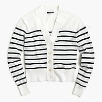 Women's Striped Cropped Lightweight - Women's Sweaters | J.Crew