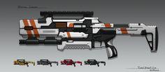 Pulse Shotgun #1 by RemoteCrab131 on DeviantArt