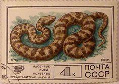 Почтовые марки СССР - фауна
