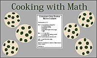 Cooking with Math | 2001 Bulletin Boards | Classroom Decor