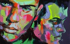 Francoise Nielly - lives and works in Paris. Believes her art is closer to abstractism than impressionism