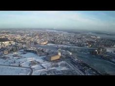 Video of Helsinki from above. Finland. Norske reiseblogger