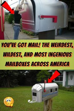 #Weirdest #Wildest #Ingenious #Mailboxes #Across #America Eyeshadow Looks, Green Eyeshadow, Disney Girls Room, Pageboy Haircut, Edgy Short Haircuts, Gold Wall Art, Stylist Tattoos, You've Got Mail, Cd Art