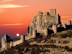 Castillo de Loarre,Spain                                                                                                                                                     Más