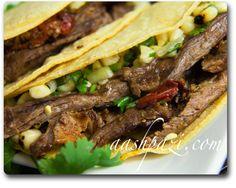 #Chipotle #Steak #Taco #SteakTaco #Recipe #VitaminB12 https://www.aashpazi.com/chipotle-steak-taco