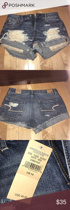 Shorts American Eagle Jean shorts never been worn still has tags American Eagle Outfitters Shorts Jean Shorts