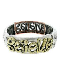 $8.99  Believe Bracelet