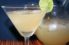 """We call these our """"poor man"""" margaritas. Limeade, can of 7-up, bottle corona, and tequila (measure using limeade can). They are yummy on a warm, sunny day!"""
