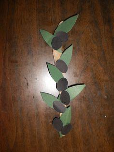 Κλαδί ελιάς! Paper Flowers Diy, Olive Tree, Autumn Art, Plant Leaves, Fall, Plants, Kids, Handmade, Education