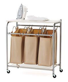 neatfreak Triple Laundry Sorter with Ironing Board