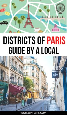 This guide to the Arrondissements of Paris (Districts of Paris) comes with the best of Paris by Arrondissement. Paris Arrondissements explained by a local with best local tips! #paris #france Paris France Travel, Paris Travel Guide, Europe Travel Tips, European Travel, Travel Destinations, Travel Abroad, Travel Guides, Paris Things To Do, Solo Travel