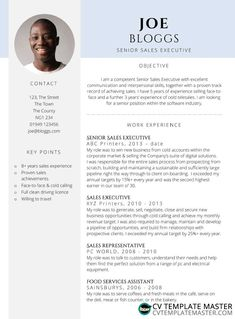 'Certified' Free CV template in MS Word - CV Template Master