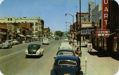 Main Street, 1952 - Moscow, Idaho