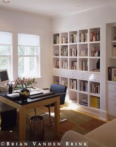 I would love a wall or two or four of built in cubbies for the playroom
