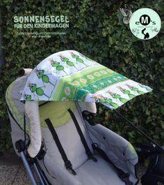 Sonnensegel für den Kinderwagen (Eine Nähanleitung und Schnittmuster von shesmile)