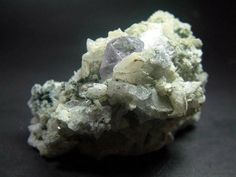 Purple Apatite with Cleavelandite mineral Specimen , from Mohmand Agency FATA Pakistan