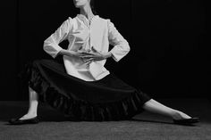 Explore The Stories — Chapter — The Spirit Moves: Atlantique Ascoli Looks to Martha Graham — THE LINE