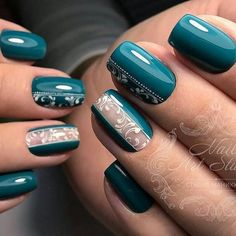 Hey there lovers of nail art! In this post we are going to share with you some Magnificent Nail Art Designs that are going to catch your eye and that you will want to copy for sure. Nail art is gaining more… Read Nagellack Design, Nagellack Trends, Trendy Nail Art, Cool Nail Art, Swag Nails, Fun Nails, Manicure E Pedicure, Gel Manicures, Nagel Gel