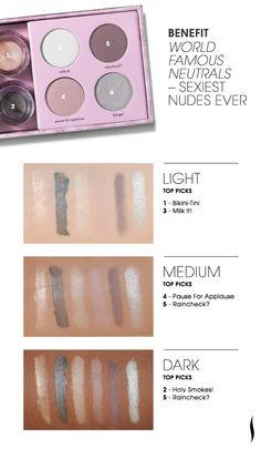 Benefit World Famous Neutrals Palette - Sexiest Nudes Ever #Sephora #eyecandy