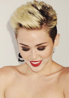 miley cyrus, glam, beauty
