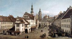 Bernardo Bellotto - Der Marktplatz zu Pirna