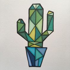 DIY Painting Cactus Rock Art Ideas – Unique Balcony & Garden Decoration and Easy DIY Ideas – Typical Miracle Doodle Art Drawing, Cool Art Drawings, Art Drawings Sketches, Sharpie Drawings, Easy Doodle Art, Cactus Drawing, Cactus Art, Cactus Plants, Cactus Doodle