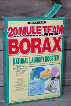 Uses for borax. Clean tile floor, toilet bowl, garbage can or get rid of ants
