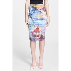 "🎉HOST PICK🎉 June&Hudson Watercolor Pencil Skirt 🎉HOST PICK - Pretty, Flirty, Girly Party 8/19🎉NWOT - STUNNING June & Hudson watercolor print pencil skirt in a size small. Purchased at Nordstrom & never wore. 92% polyester/8% spandex; length is 23.5"". Feels like a million $! June & Hudson Skirts Midi"