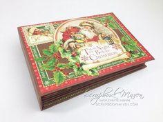 Graphic 45 Twas the Night Before Christmas Mini Album - YouTube