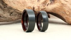 Giveaway: Black Zirconium & Wood Ring | DudeIWantThat.com