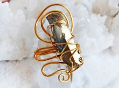 Anello in Aqua Aura