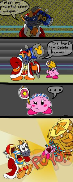 The Brand-New Kirby Hammer by RoughSketch897 on DeviantArt