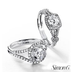 The perfection of every Simon G. engagement ring lies in the detail of the cut and the perfection of the craftsmanship. Each piece has been perfected by the effort and hard work of skilled workers. The idea behind each Simon G engagement rings is to use your own hands to carve something beautiful.