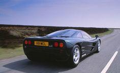 1994 McLaren F1 (C/D Tested: 0-60 mph — 3.2 seconds)