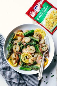 Sheet Pan Lemon Garlic Butter Shrimp with Asparagus is a meal in one with five minutes of prep and 10 minutes to cook. Tossed in a delicious lemon garlic butter sauce this recipe is a keeper! Spring is right around the corner. I can feel it. The snow is starting to melt and I love …