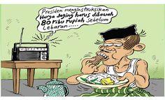 Mice Cartoon, Rakyat Merdeka - Juni 2016: Omong Kosong Harga Daging