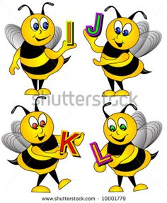 bee letters