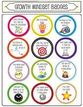 Growth Mindset Coupons/Badges *NEW* There is a second set of 12 different badges: Go to this link! Growth Mindset Coupons/Badges Set 2 I use these badges with my students to praise them when they display a growth mindset. Growth Mindset Classroom, Classroom Behavior, Growth Mindset Display, Growth Mindset Kids, Classroom Ideas, Social Emotional Learning, Social Skills, Habits Of Mind, 7 Habits