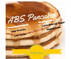 I got my abs eating these pancakes....click the picture to see these amazing pancakes! www.ashleydrummonds.com