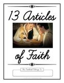 LDS Notebooking: 13 Articles of Faith Cursive Copywork - also available in print Lds Faith, Faith In God, 13 Articles Of Faith, Mormon Beliefs, Primary Teaching, Lds Primary, Lds Scriptures, Doctrine And Covenants, Scripture Study