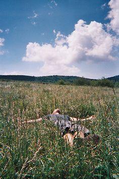 Bucketlist#01 - Lie down on the grass to enjoy the sun