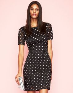 b99d5ab3a4f7 Yumi Spot Lace Dress Tøj Til Kvinder