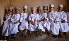 Young Omani boys