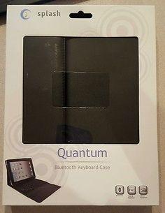 Splash QUANTUM Wireless Bluetooth Keyboard Folio Case for iPad 1/iPad 2 **NEW**