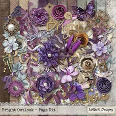 Bright Outlook Page Kit by #LaithasDesigns has unlimited potential.  #thestudio #digitalscrapbooking